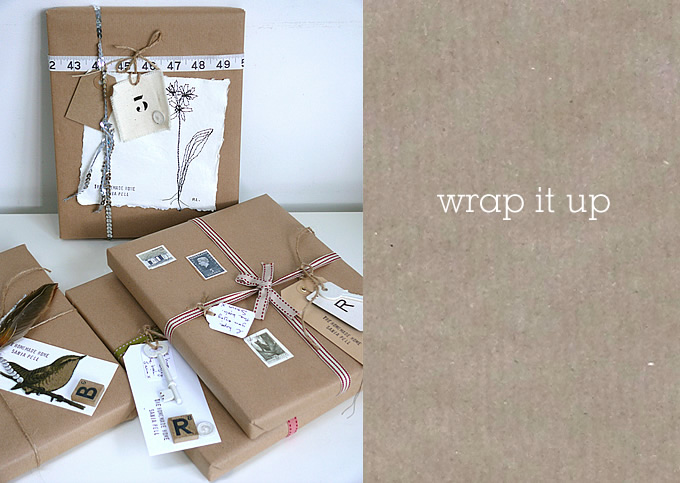 How To Make A Book Cover With Gift Wrap : Make your gift wrap a in itself sania pell