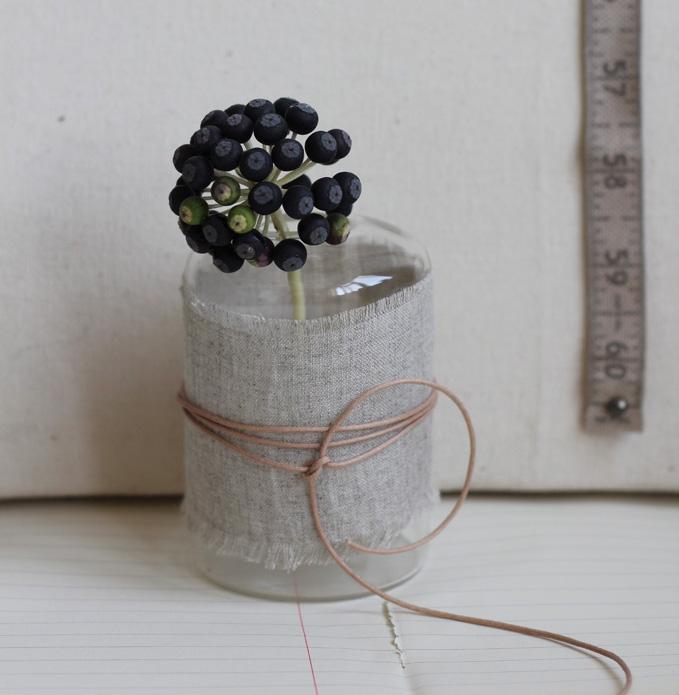 Fabric Wrapped Vases Sania Pell Freelance Interior Stylist