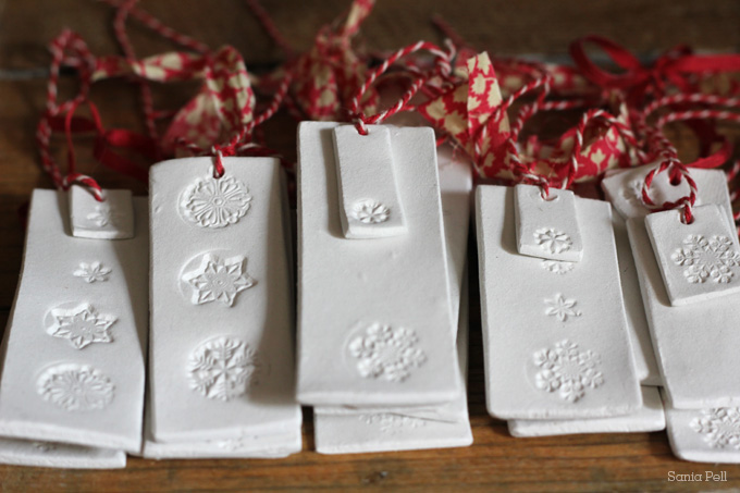 craft project: clay christmas decorations - Sania Pell - Freelance ...