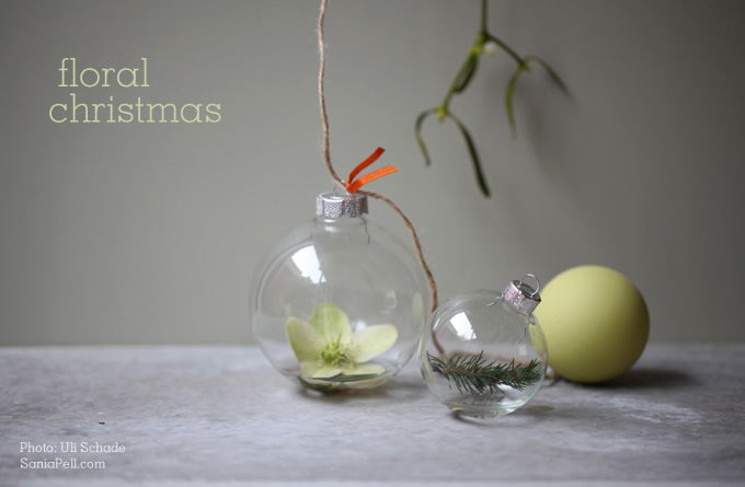 sania pell christmas baubles