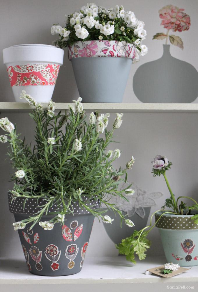 sania pell liberty plant pots