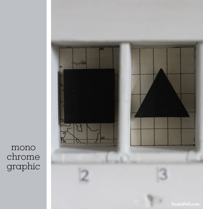 Graphic Box project from the Homemade Home for Children by Sania Pell