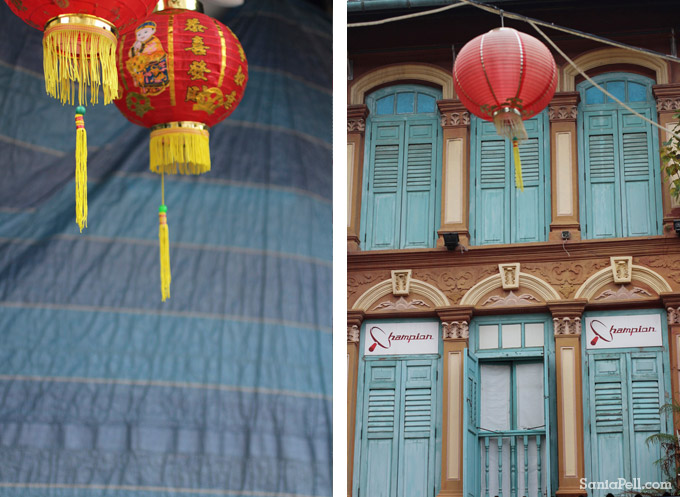 Chinatown, Singapore by Sania Pell