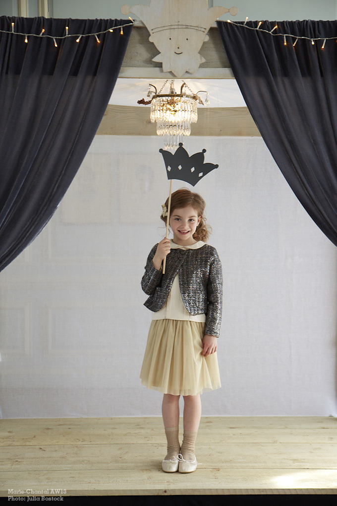 Marie-Chantal kids A/W 13 Photo: Julia Bostock Prop styling: Sania Pell