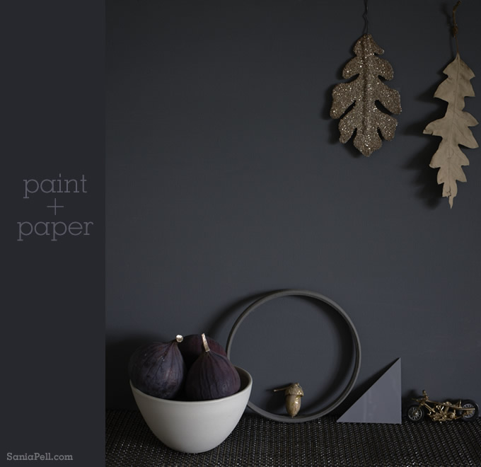 Paint and Paper - Styling by Sania-Pell. Photographer Joanna Henderson