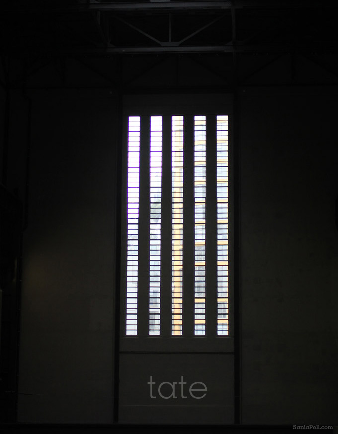 Window in the Turbine Hall at Tate Modern by Sania Pell