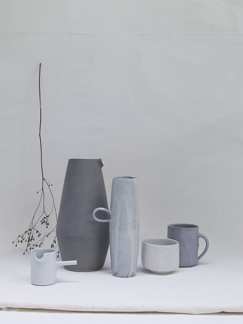 From Line up contemporary craft exhibition by stylist Sania Pell, photographer Beth Evans.