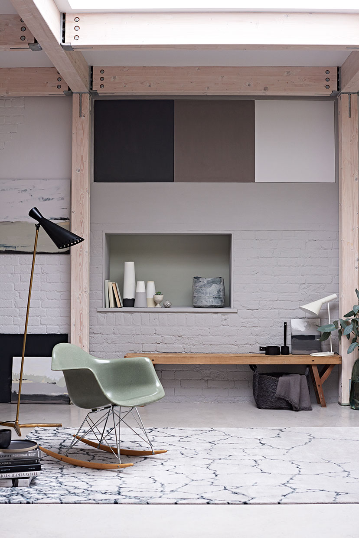 Interior stylist Sania Pell.
