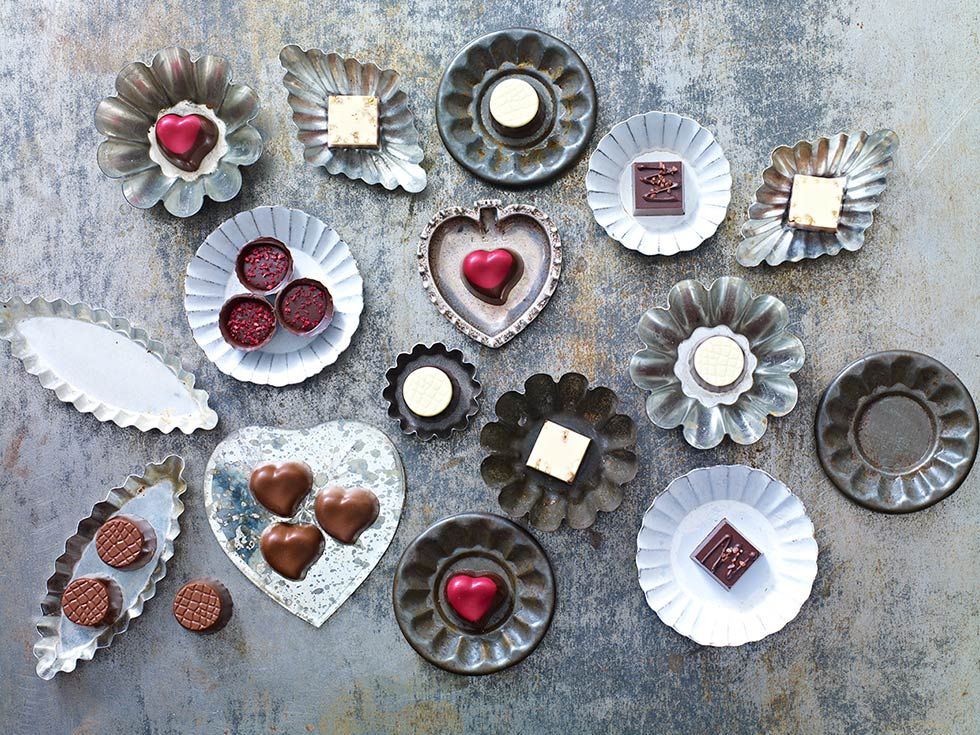 Valentines Chocolates, Styling Sania Pell, Photo Stuart West