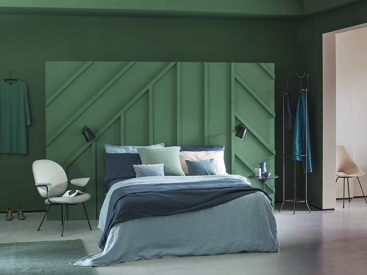 Interior Stylist Sania Pell, Photographer Neil Mersh, for Earthborn Paint