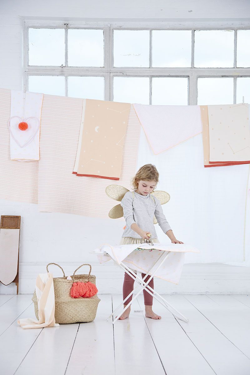 Children's interiors stylist by Sania Pell for Meri Meri, photographer Julia Bostock