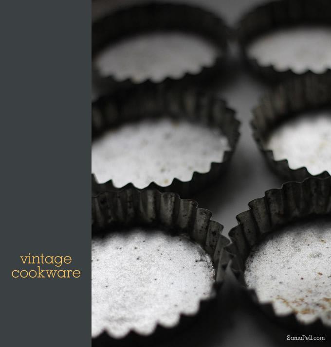 vintage tart tins