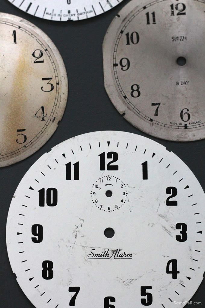 clock faces by sania pell