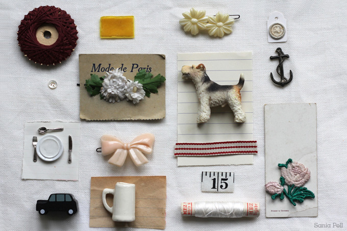 collected objects by sania pell