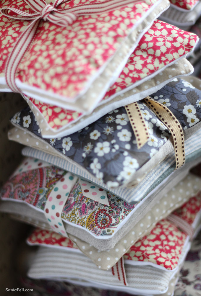 lavender bags by Sania Pell