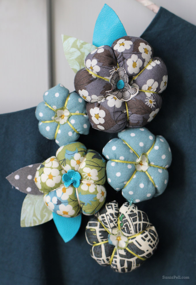 floral brooch by Sania Pell from The Homemade Home for Children