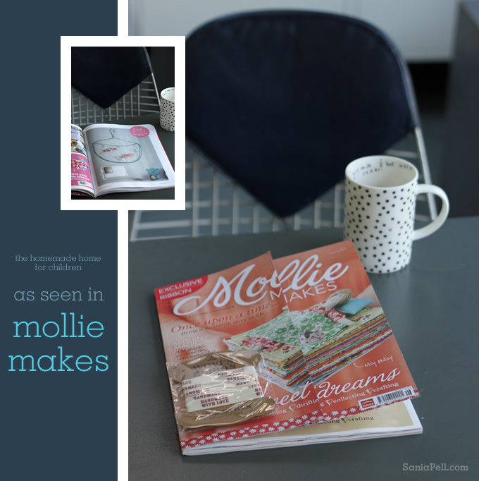 The Homemade Home for Children by Sania Pell in Mollie Makes magazine