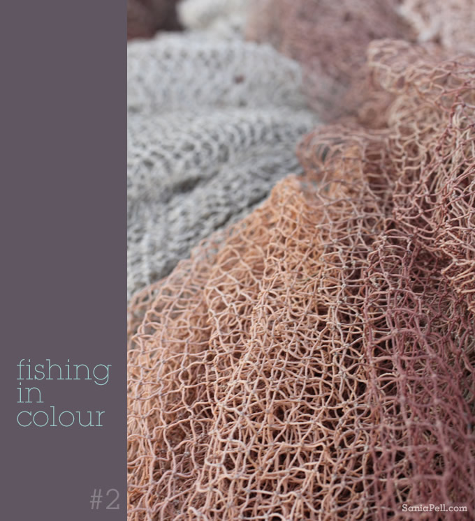 Croatian fishing nets by Sania Pell