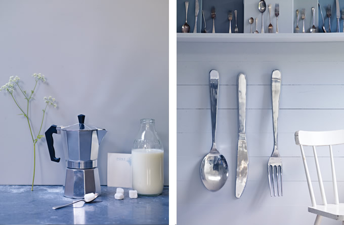 Kitchen styling by Sania Pell for Cox & Cox