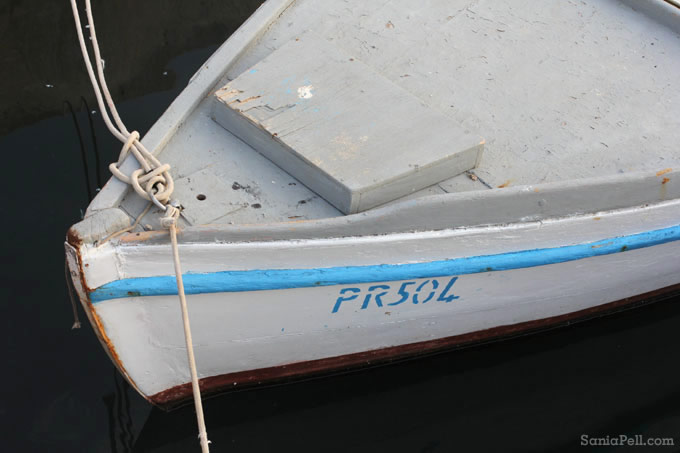 croatian boat by Sania Pell