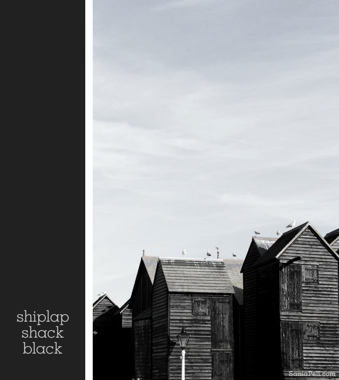 Hastings fishing huts by Sania Pell