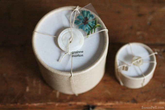 Jewellery packaging by Grainne Morton - photo by Sania Pell