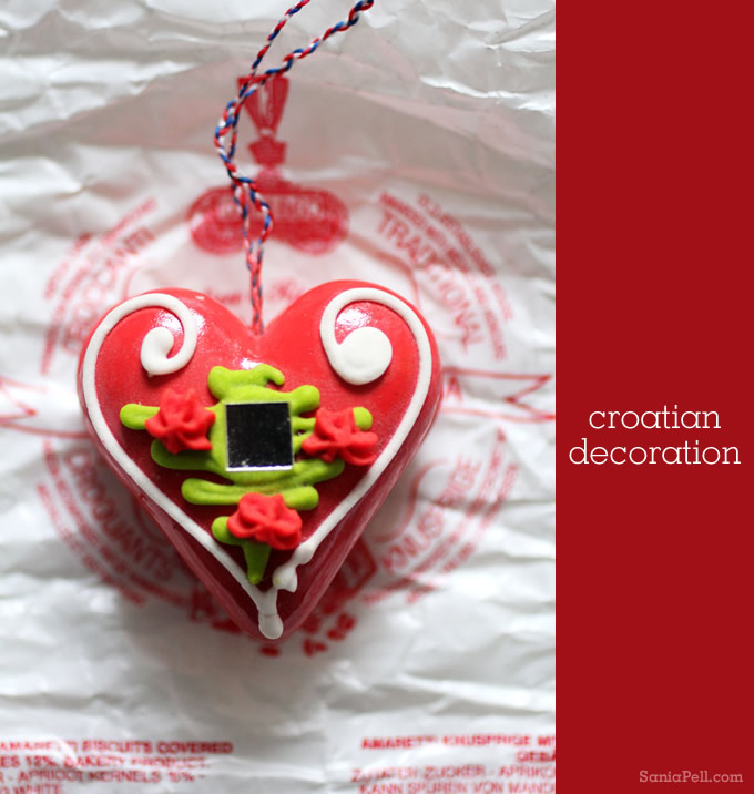 A traditional Croatian decoration - by Sania Pell