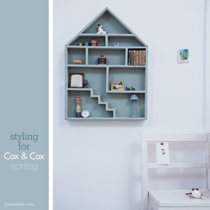 Sania Pell interior styling for Cox and Cox