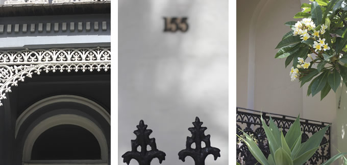 Details of houses in Paddington, Sydney by Sania Pell