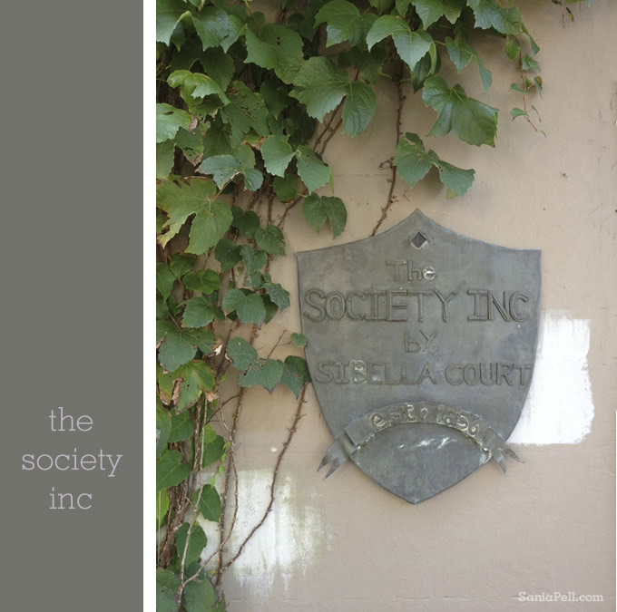 The Society Inc store in Sydney - photo by Sania Pell