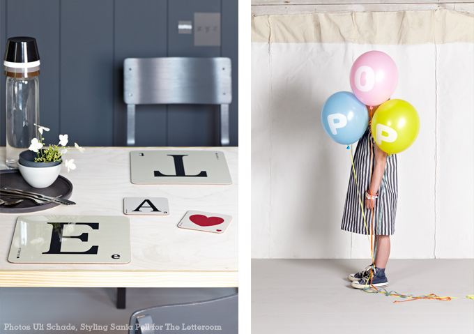 Stylist Sania Pell for The Letteroom, photos by Uli Schade
