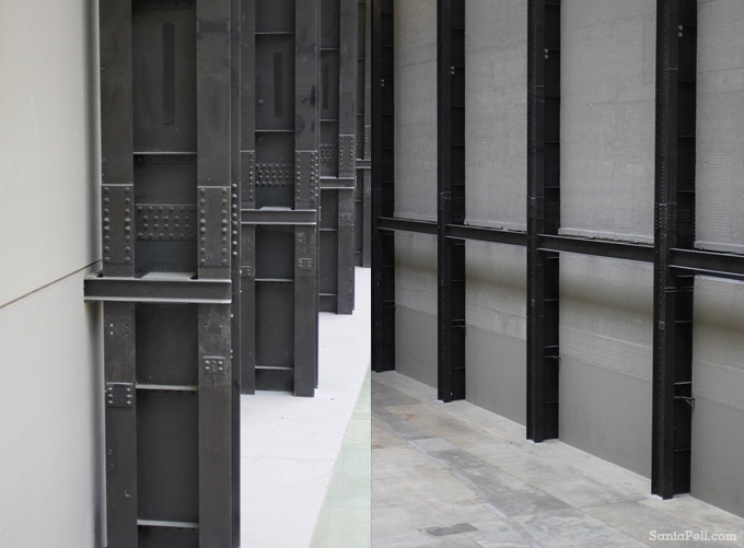 Turbine Hall details at Tate Modern by Sania Pell