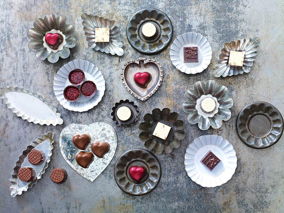 Valentines Chocolates, Styling Sania Pell, Photo Stuart West