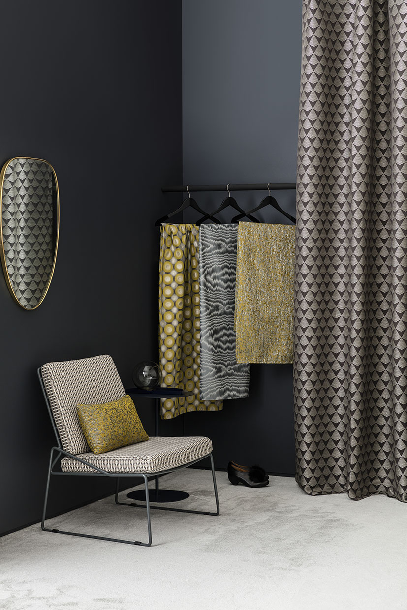 Interiors styling by Sania Pell for Romo Fabrics. Photographer Ben Anders.