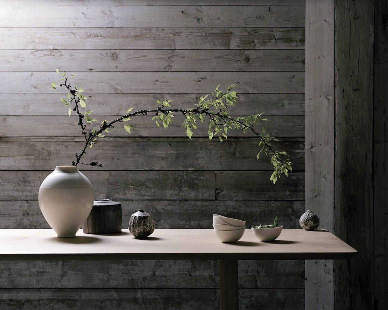 Sania Pell interior stylist for Maud & Mable craft and ceramics gallery, photography by Rory Gardiner
