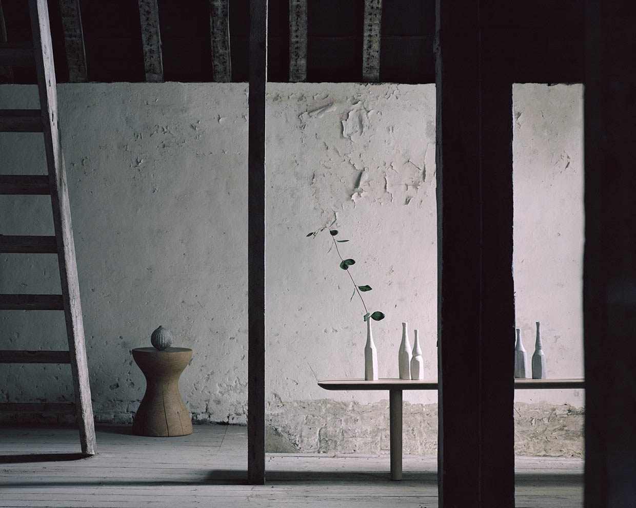 Sania Pell interior photographic stylist for Maud & Mable craft and ceramic art gallery, photography by Rory Gardiner