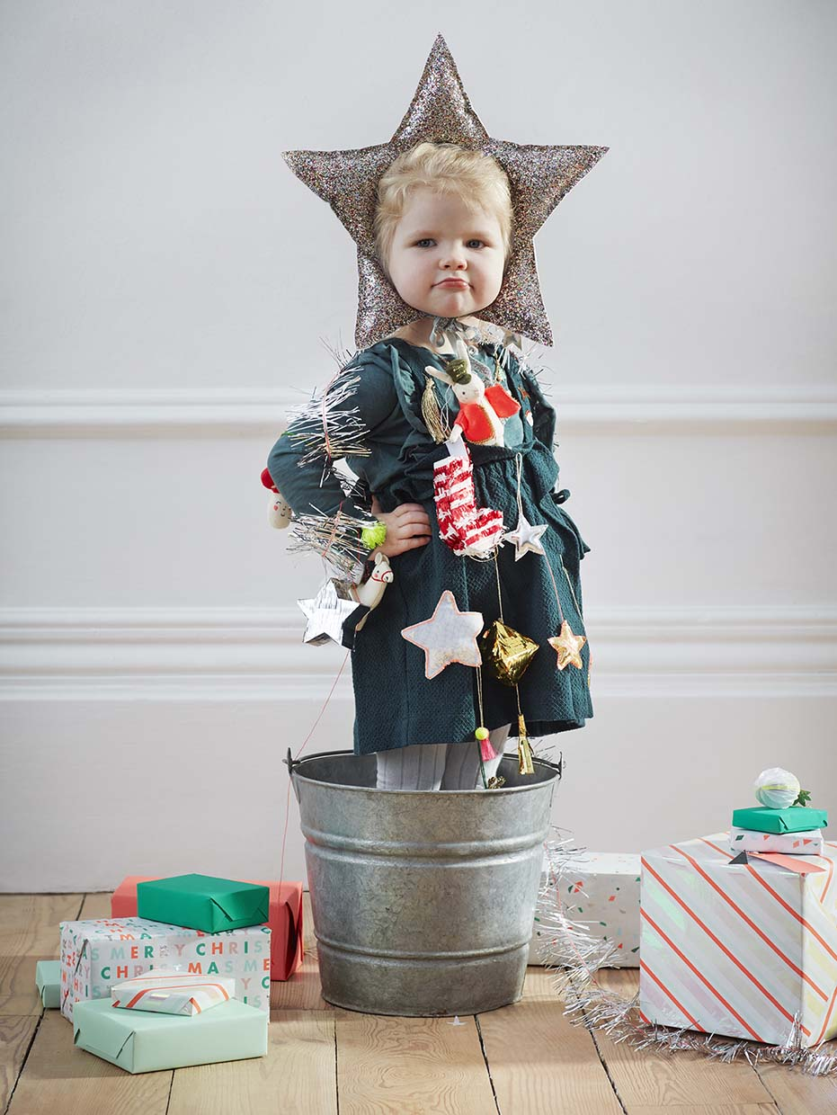Sania Pell Stylist for Meri Meri, photographer Sandra Freij. Kids lifestyle, interiors and home. Christmas.