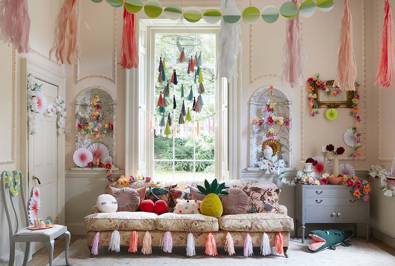 Sania Pell Stylist for Meri Meri, photographer Sandra Freij. Kids lifestyle, interiors and home.