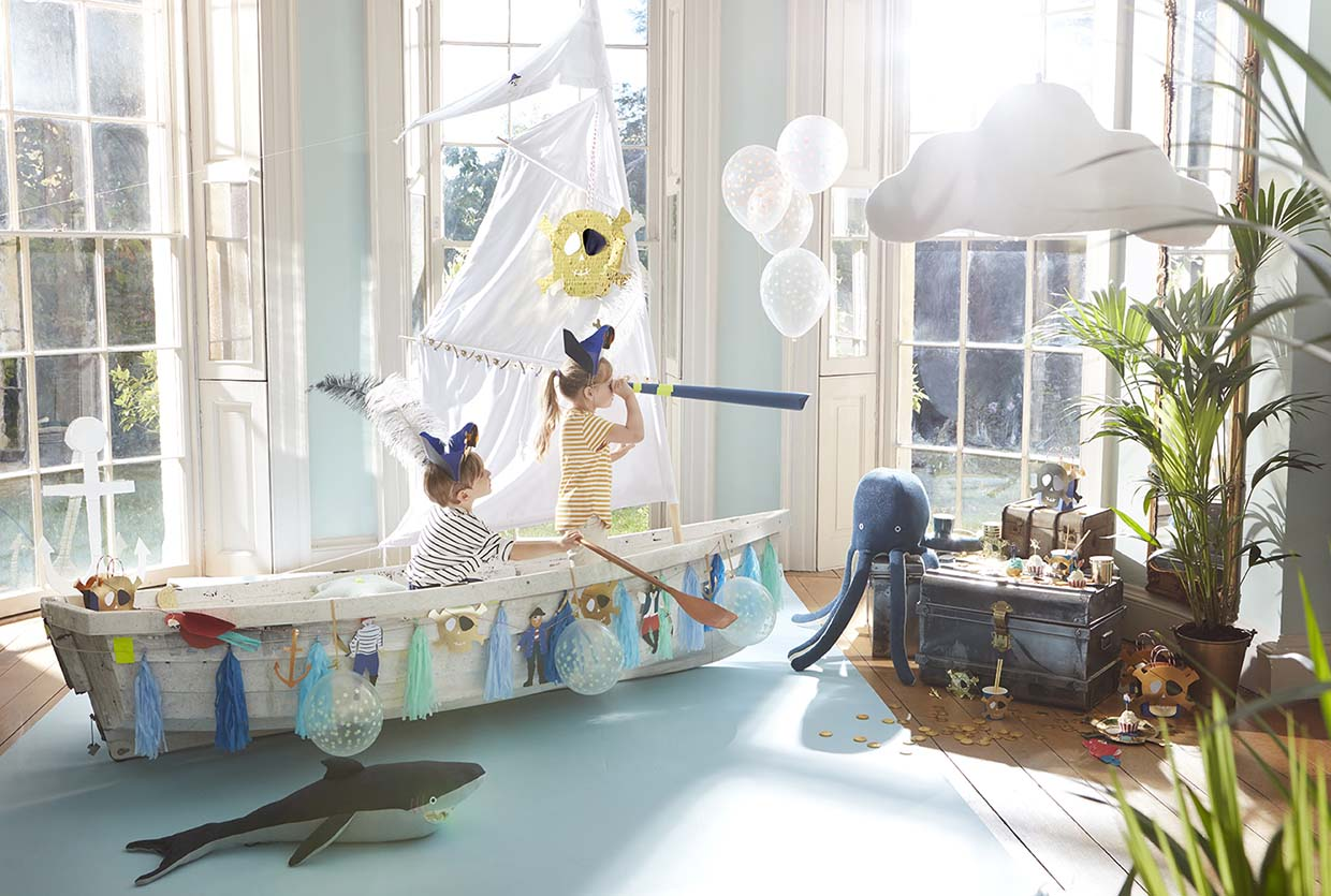 Sania Pell Stylist for Meri Meri, photographer Sandra Freij. Kids lifestyle, interiors and home.